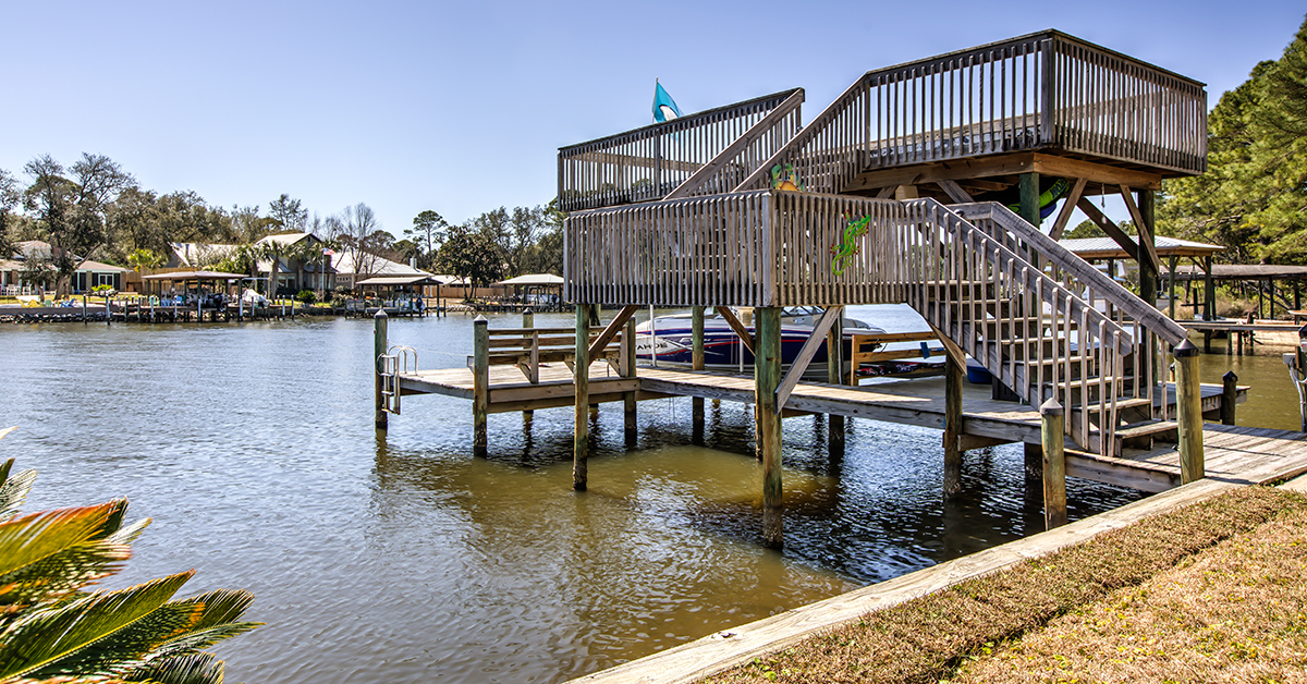 Santa Rosa Beach Waterfront Home