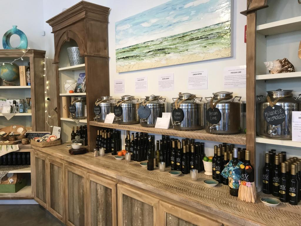 30A Olive Oil Tasting Gallery