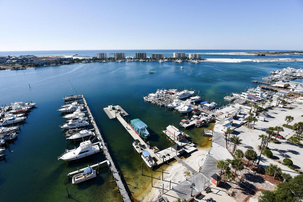 Destin Penthouse View and Dock