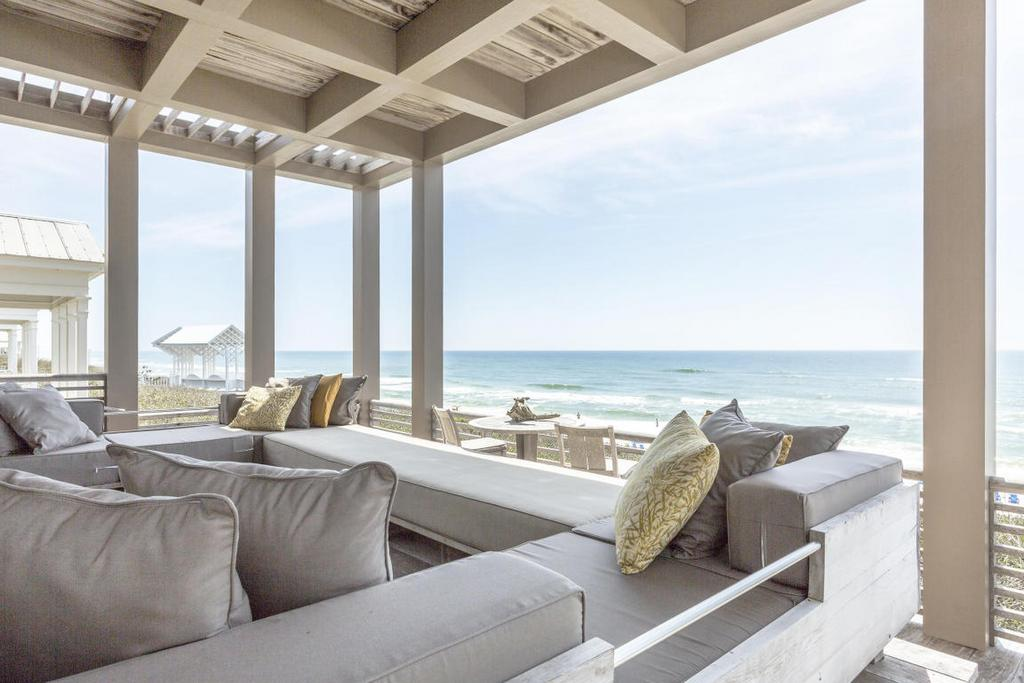 Seaside Beachfront Deck
