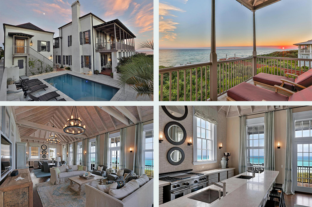 Cottage That Features Six Bedrooms And Seven Baths Is Located In The Highly Prestigious Dutch Colonial Inspired Village Of Rosemary Beach At 78 S