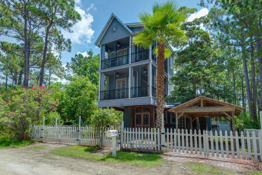 60s Seagrove Beach Cottage for Sale