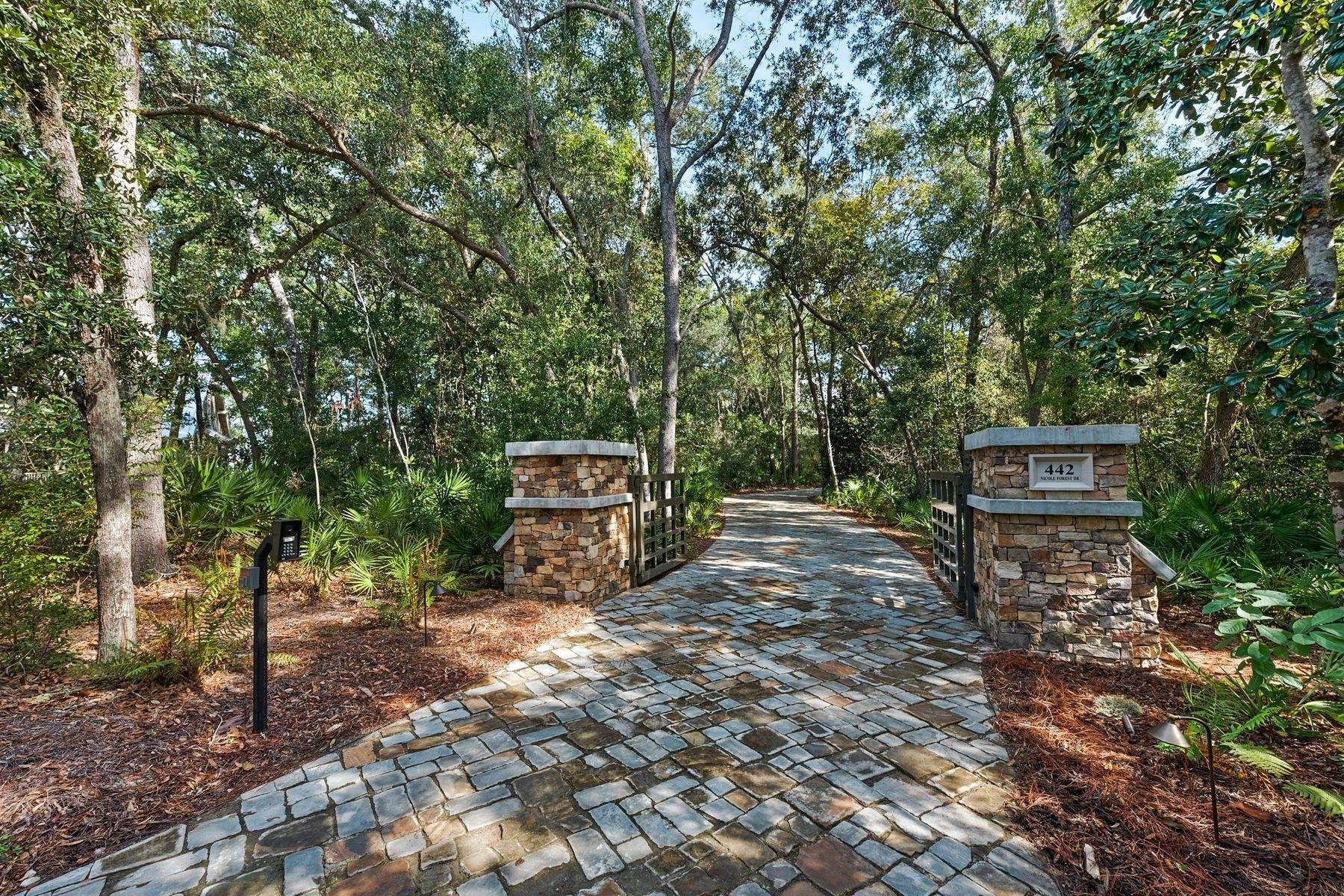 422 Nicole Forest Dr Gated Entrance