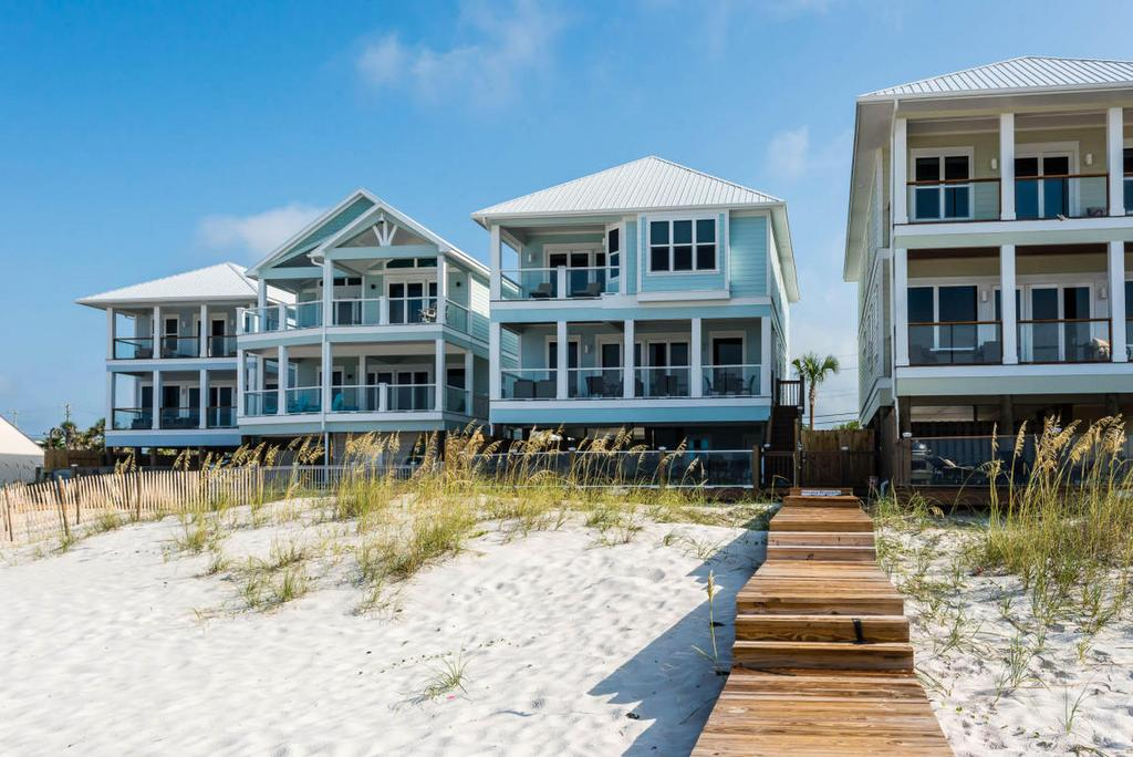 2 Neighboring Pcb Beachfront Homes For Sale