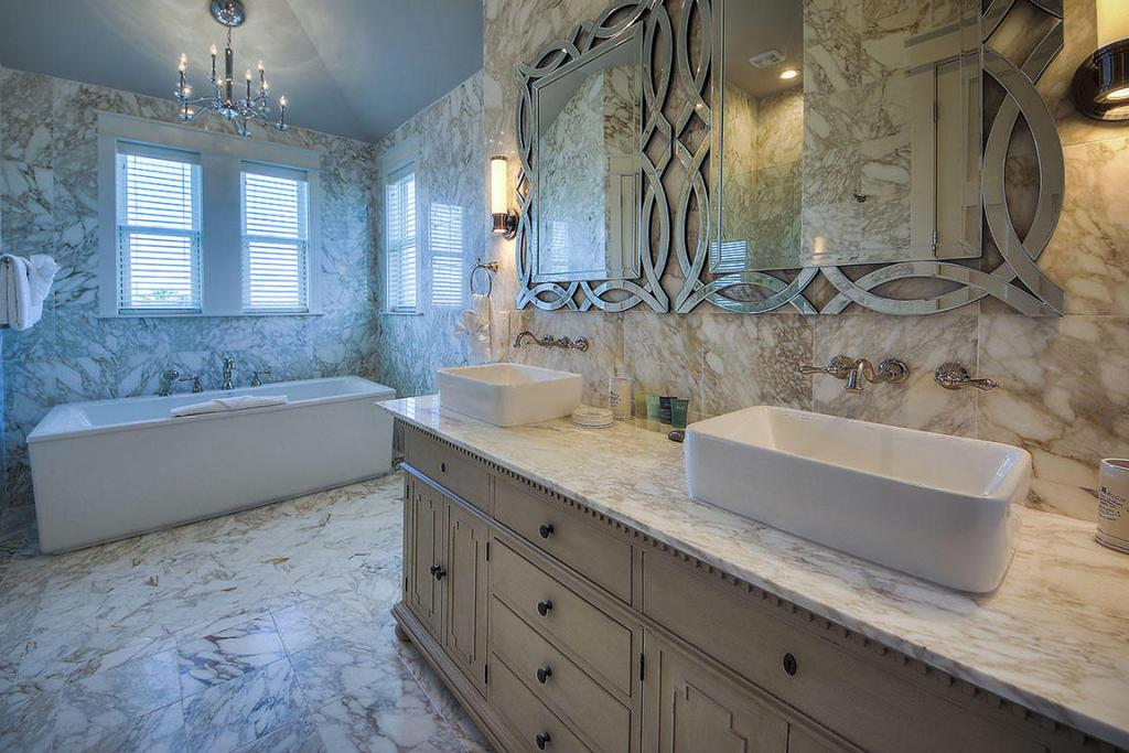 Crystal Beach Master Bath