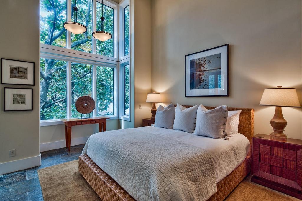 Grayton Beach Zen Home Bedroom