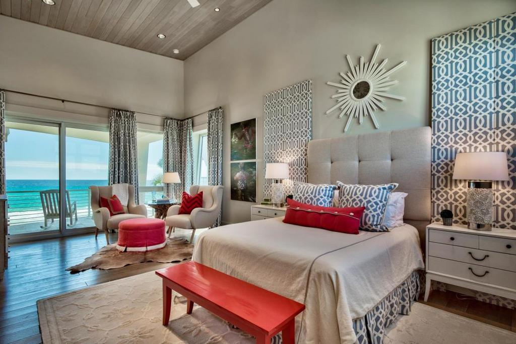 Master Bedroom South Walton Home