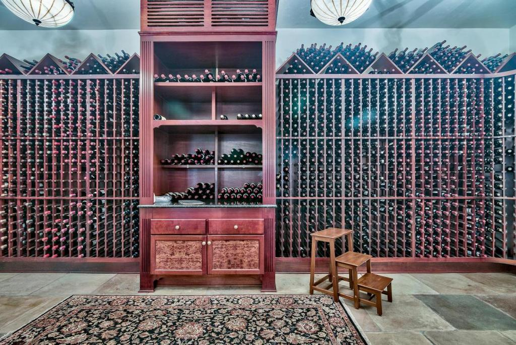 Miramar Beach Estate Wine Cellar