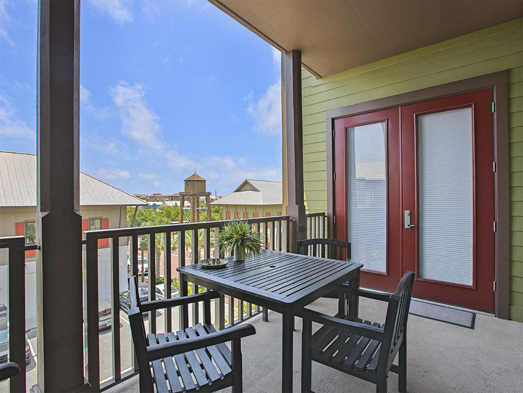 Redfish Village Balcony