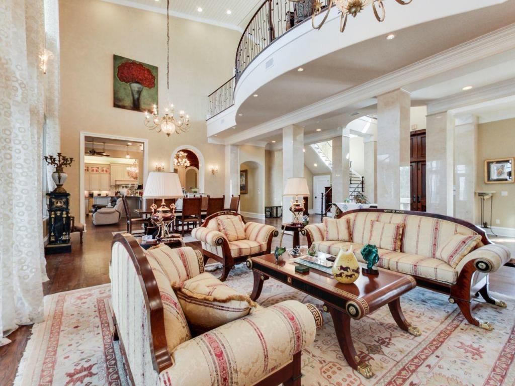 Santa Rosa Beach Mansion Living Room