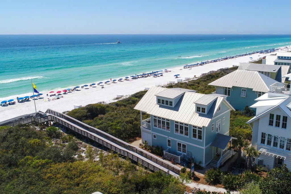 beachfront watercolor home for sale
