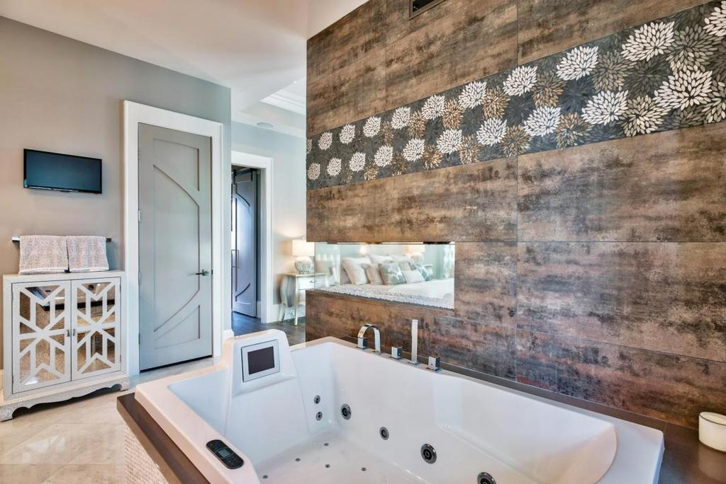 Watercolor Master Bathroom